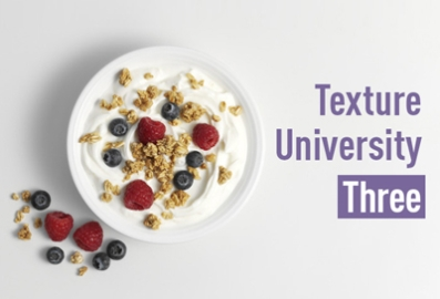 Bowl of fruit and dairy Texture university module three