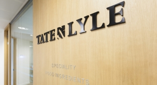Tate & Lyle logo on Office wall