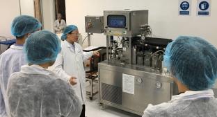 Shanghai lab customer visit