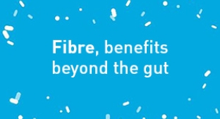 Fibre benefits beyond the gut