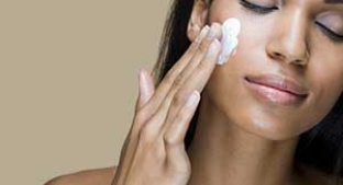 Women using face cream containing TEXTURLUX® PERSONAL CARE ADDITIVES