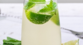 Soda with lime