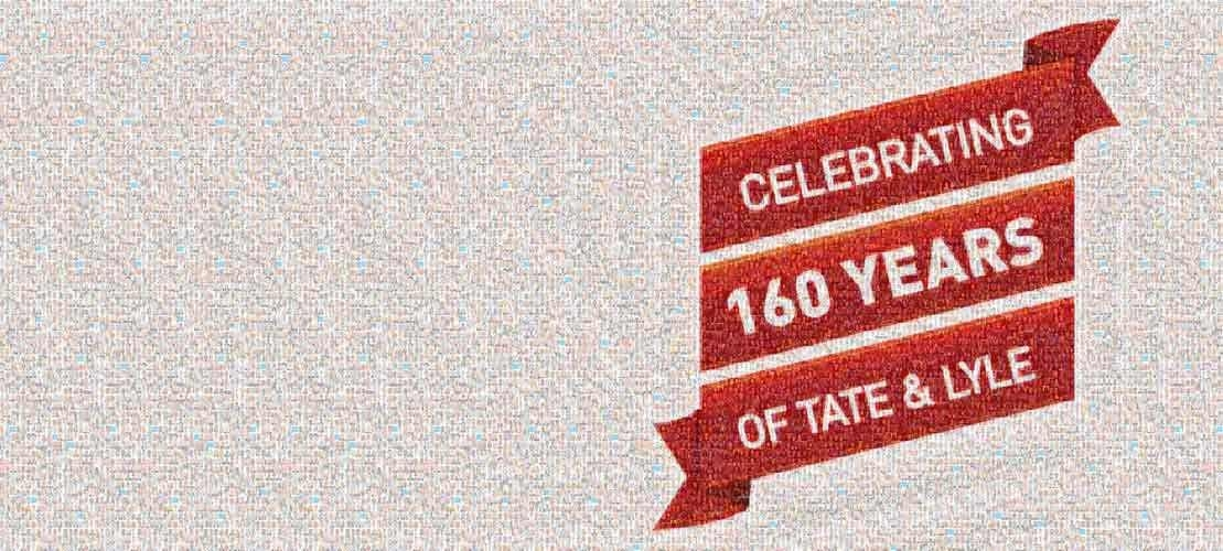 Mosaic of tate and lyle employees for 160 Anniversary
