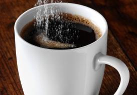 Coffee with Splenda Sucralose